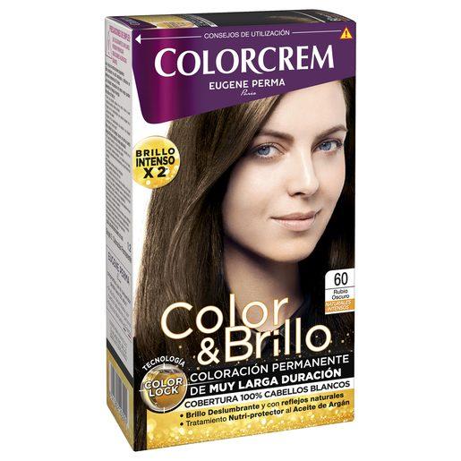 COLORCREM tinte Rubio Oscuro Nº 60 caja 1 ud