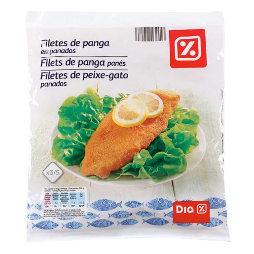 DIA filetes de panga empanados bolsa 600 gr