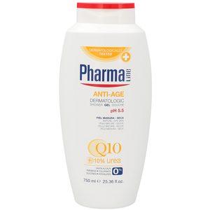 PHARMALINE gel de ducha antiedad Q10 bote 750 ml