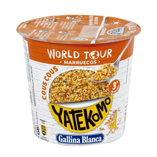 GALLINA BLANCA WORLD TOUR Marruecos cous cous vaso 106 gr