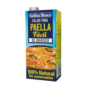 GALLINA BLANCA caldo para paella de marisco envase 1 lt