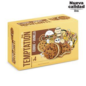 DIA TEMPTATION helado sandwich cookie con vainilla caja 4 uds 60 gr