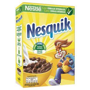 NESTLE cereales nesquik paquete 375 gr