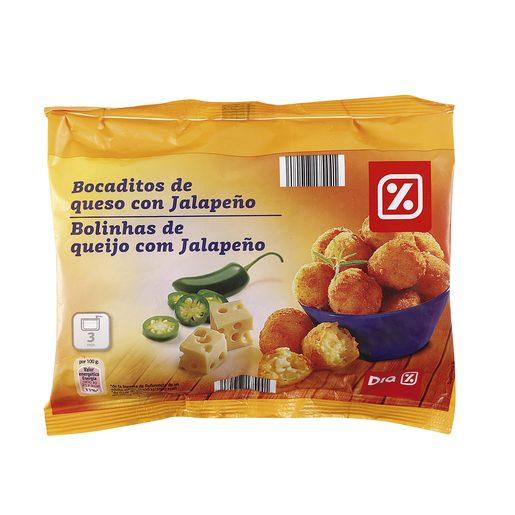 DIA bocaditos de queso con jalapeños bolsa 300 gr