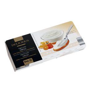 DIA DELICIOUS yogur al estilo griego con naranja y zanahoria pack 2 unidades 125 gr