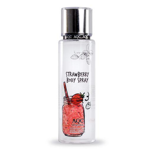 AQC FRAGANCES body mist corporal strawberry spray 200 ml