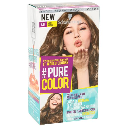 PURE COLOR tinte Dirty Blonde Nº 7.0 caja 1 ud