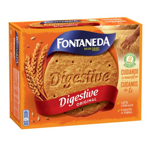 FONTANEDA galleta digestive paquete 700 gr