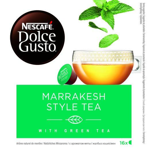 DOLCE GUSTO té marraskesh style tea 16 cápsulas caja 116,8 gr