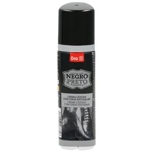 DIA limpiacalzado autoaplizador con esponja color negro bote 50 ml