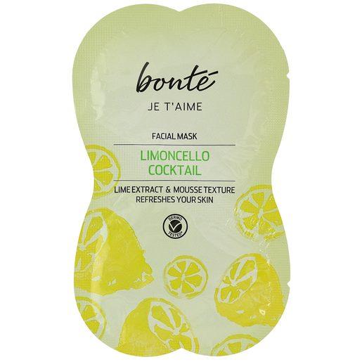 BONTE mascarilla facial refrescante limoncello sachet 2 x 8 ml