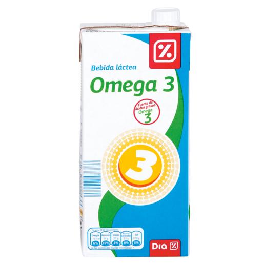 DIA bebida láctea omega 3 envase 1 lt