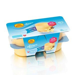 REINA natillas de vainilla equilibrio pack 4 unidades 125 g