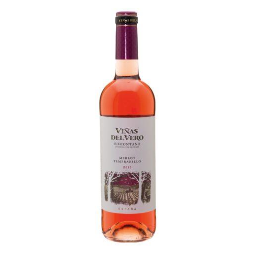 VIÑAS DEL VERO vino rosado botella 75 cl