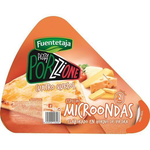 FUENTETAJA Porzzione pizza 4 quesos especial microondas 190 gr