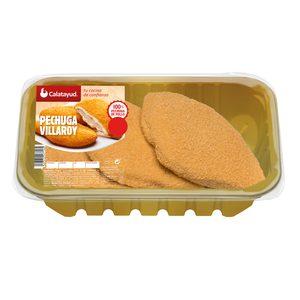 Pechugas de pollo villaroy bandeja 400 gr