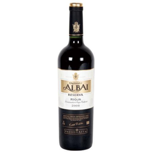 CASTILLO ALBAI vino tinto reserva DO rioja botella 75 cl