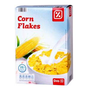 DIA cereales corn flakes copos de maiz tostado paquete 500 gr