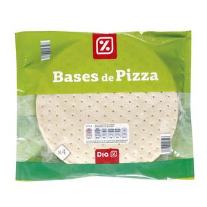 DIA bases de pizza bolsa 4 x 125 gr