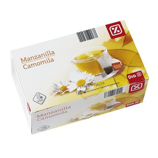 DIA manzanilla estuche 50 bolsitas