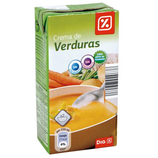 DIA crema de verduras envase 500 ml