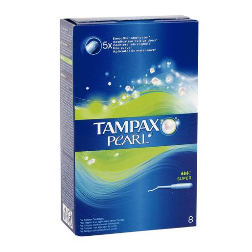 TAMPAX Pearl tampón super caja 8 uds
