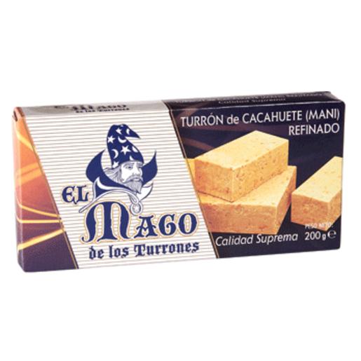 EL MAGO turrón de cacahuete blando estuche 200 gr