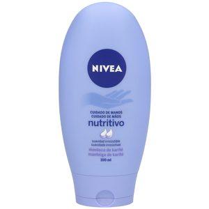 NIVEA crema de manos cuidado nutritivo intensivo manos secas tubo 100 ml