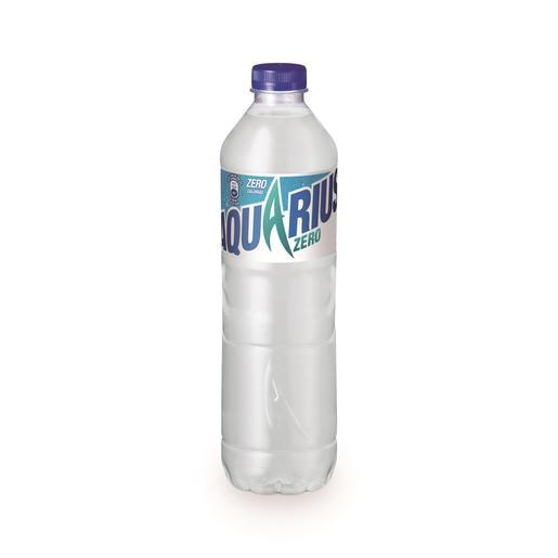 AQUARIUS Zero bebida refrescante aromatizada limón botella 1.5 lt