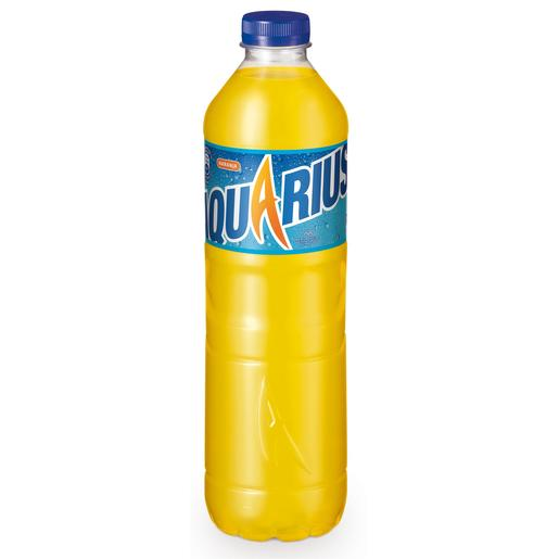 AQUARIUS bebida refrescante aromatizada naranja botella 1.5 lt