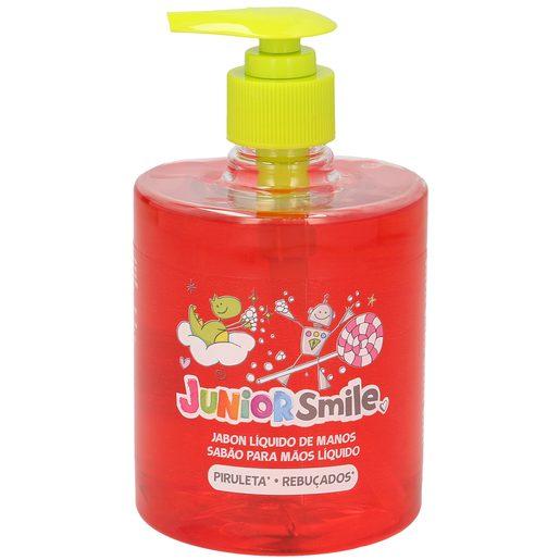 JUNIORSMILE jabón líquido de manos piruleta dosificador 500 ml