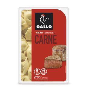 GALLO tortelloni de carne bandeja 200 gr