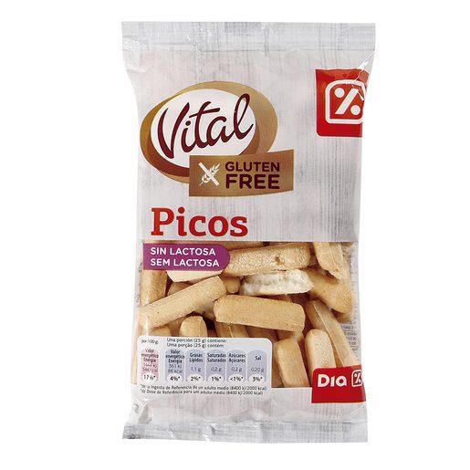 DIA VITAL picos SIN GLUTEN bolsa 100 gr