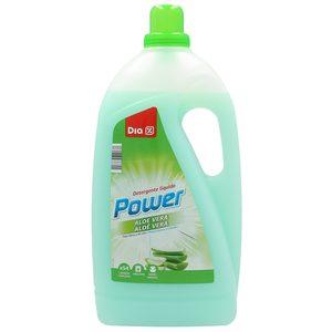 DIA detergente máquina líquido aloe vera botella 54 lv