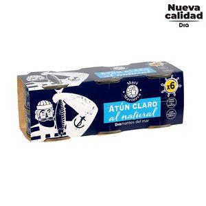 DIA MARI MARINERA atún claro al natural pack 6 latas de 60 gr