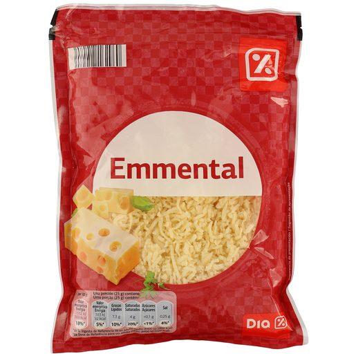 DIA queso rallado emmental bolsa 200 gr