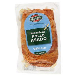 LA CARLOTEÑA redondo de pollo asado envase 340 gr