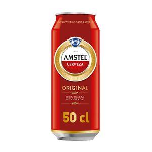 AMSTEL cerveza lata 50 cl