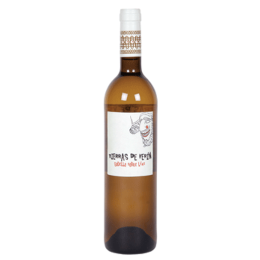 TIERRAS DE VERIN vino blanco godello fermentado sobre lías botella 75 cl