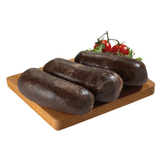 Morcilla de aragón con piñones (peso aprox. 600 gr)