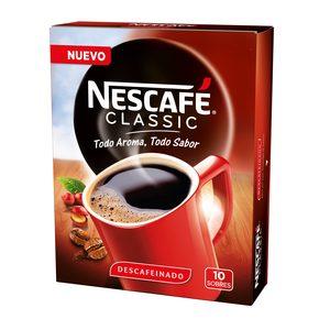 NESCAFE café descafeinado caja 10 sobres