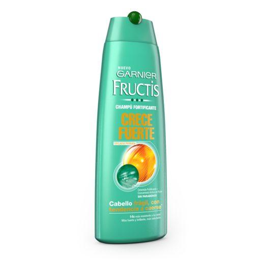 FRUCTIS champú crece fuerte fortificante cabello frágil bote 300 ml