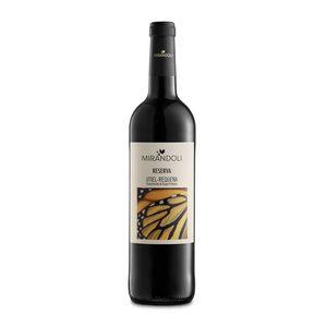 MIRANDOLI vino tinto reserva DO Utiel Requena botella 75 cl