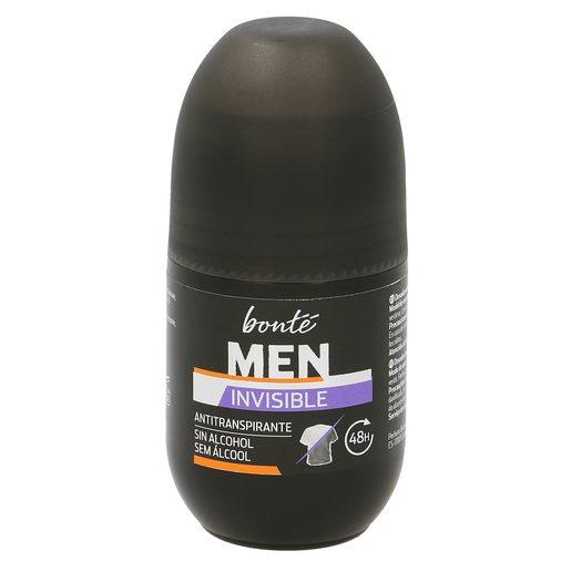 BONTE desodarante invisible para hombre roll on 50 ml
