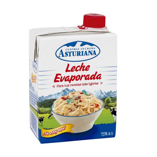 ASTURIANA leche evaporada 7,5% M.G. envase 340 cl