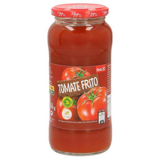 DIA tomate frito frasco 550 gr