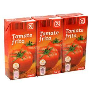 DIA VEGECAMPO tomate frito pack 3 unidades 390 gr