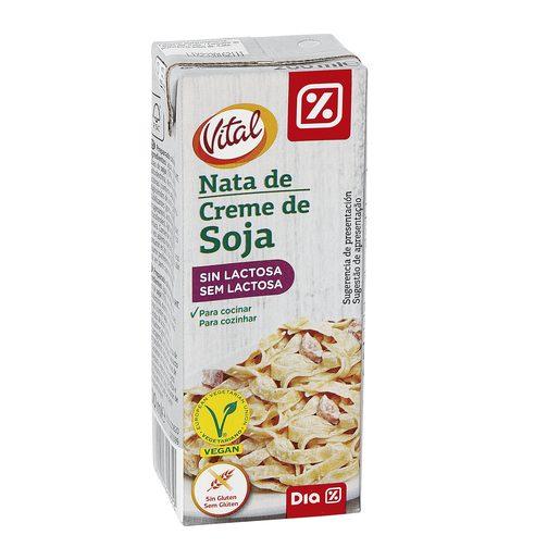 DIA VITAL nata de soja sin lactosa envase 200 ml