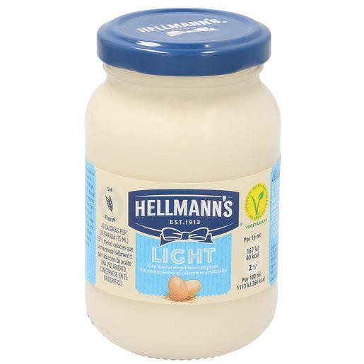 HELLMANN'S mayonesa light frasco 225 ml