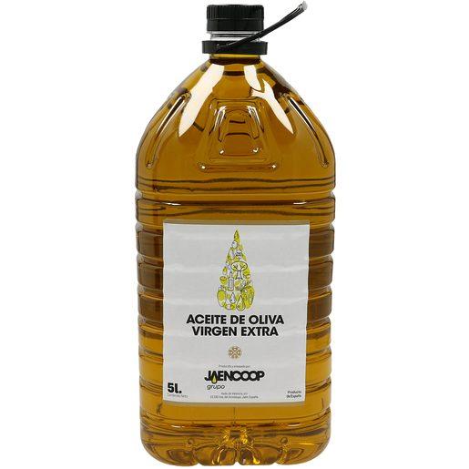 JAENCOOP aceite de oliva virgen extra garrafa 5 lt